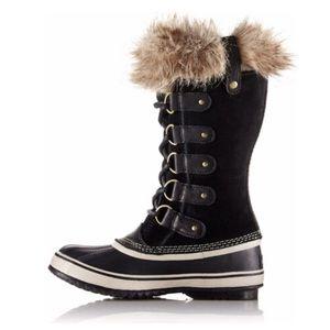 Sorel Joan of Arctic Black Boots Sz 9